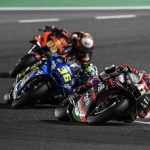 APRILIA ONCE AGAIN IN THE LEADING GROUP AND IN THE TOP 10 WITH ALEIX