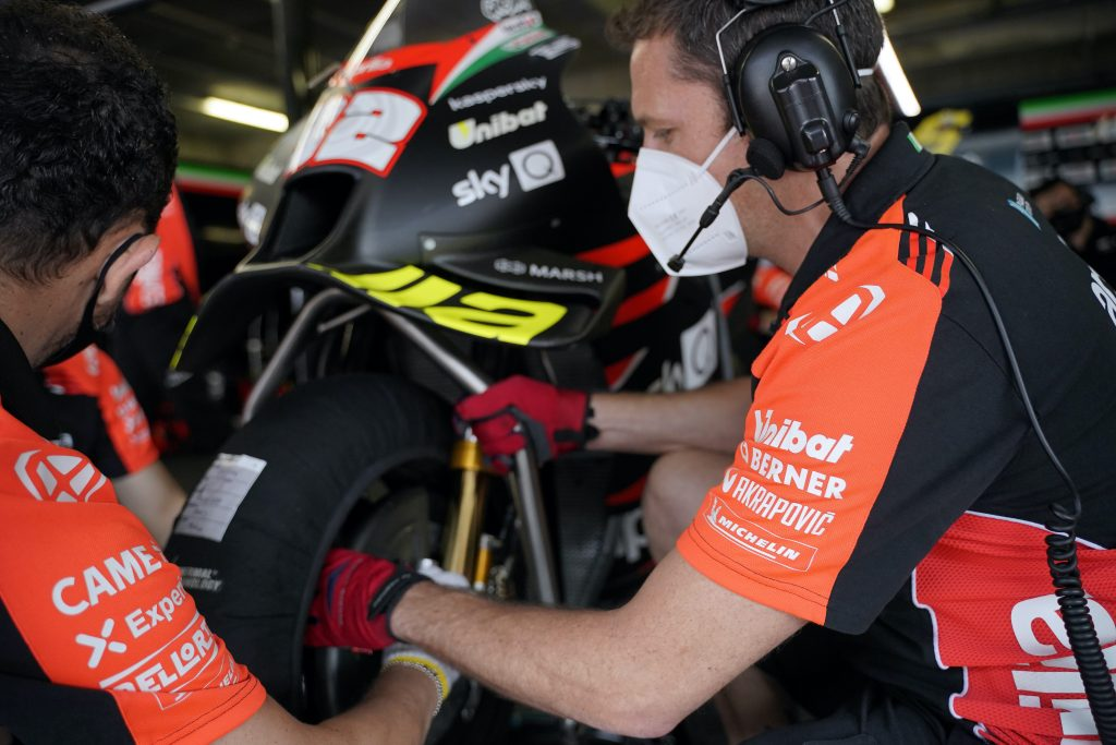 BERNER E GRESINI: 16 ANNI INSIEME - Gresini Racing