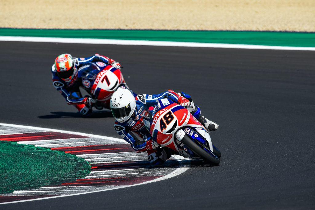 MICELI TOP6 E SECONDA POSIZIONE IN CLASSIFICA - Gresini Racing