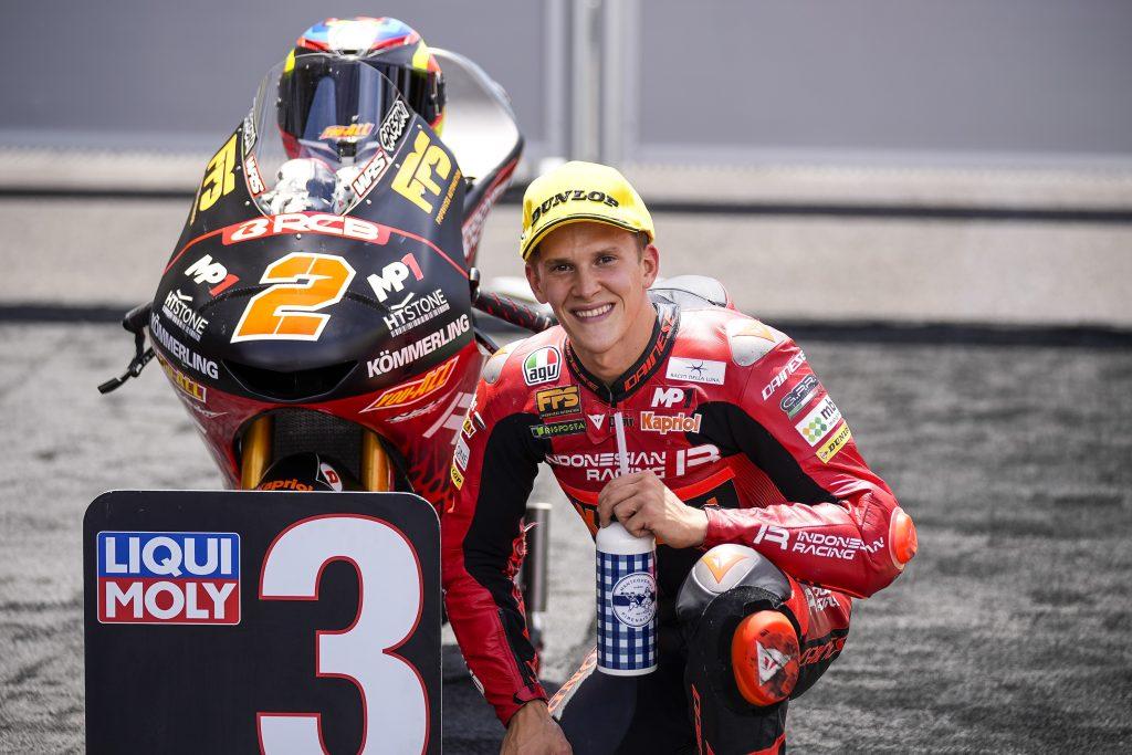 RODRIGO IN PRIMA FILA, ALCOBA SUBITO DIETRO - Gresini Racing