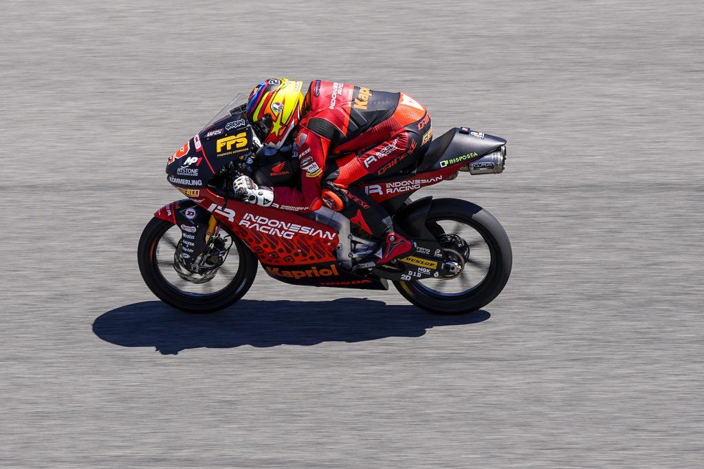 ALCOBA CI PRENDE GUSTO, ANCORA PRIMA FILA. RODRIGO 4º - Gresini Racing