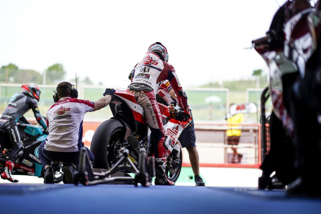 DIGGIA IN FORMA: TOP5 IN QUALIFICA - Gresini Racing