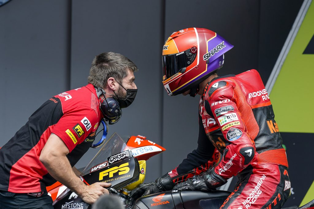 ALCOBA NARROWLY MISSES ON HOME GP WIN AT MONTMELÓ   - Gresini Racing