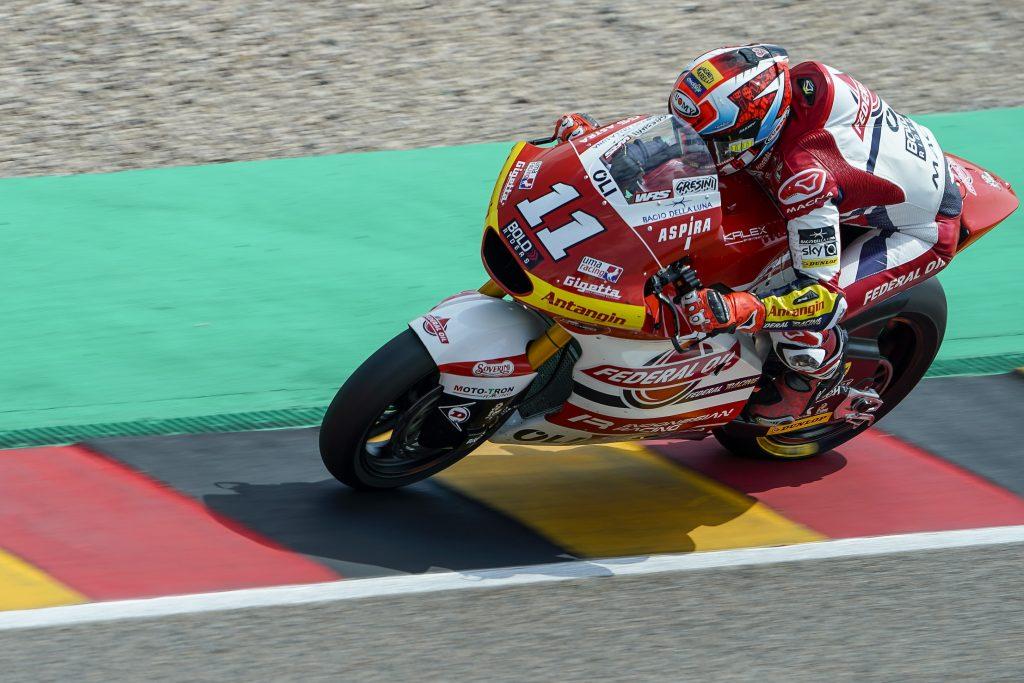 DI GIANNANTONIO DALLA PRIMA FILA AL SACHSENRING - Gresini Racing