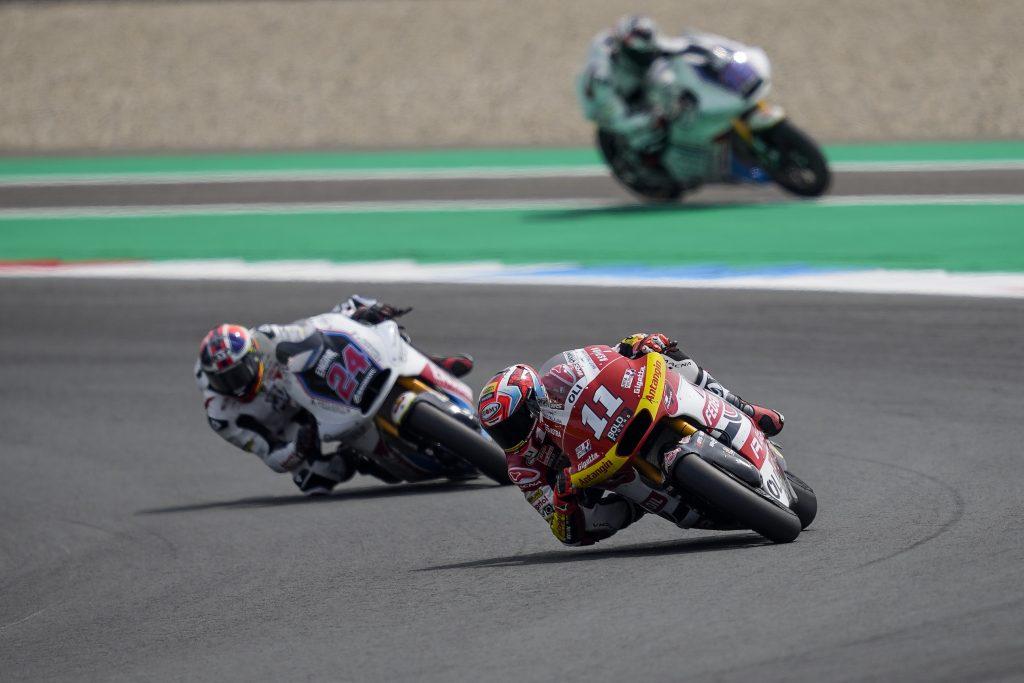 DI GIANNANTONIO, RIMONTA A METÀ AD ASSEN - Gresini Racing