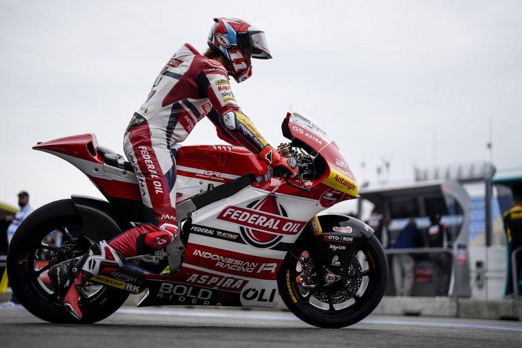 DIGGIA PRENOTA LA Q2, BULEGA VOLA SUL BAGNATO   - Gresini Racing