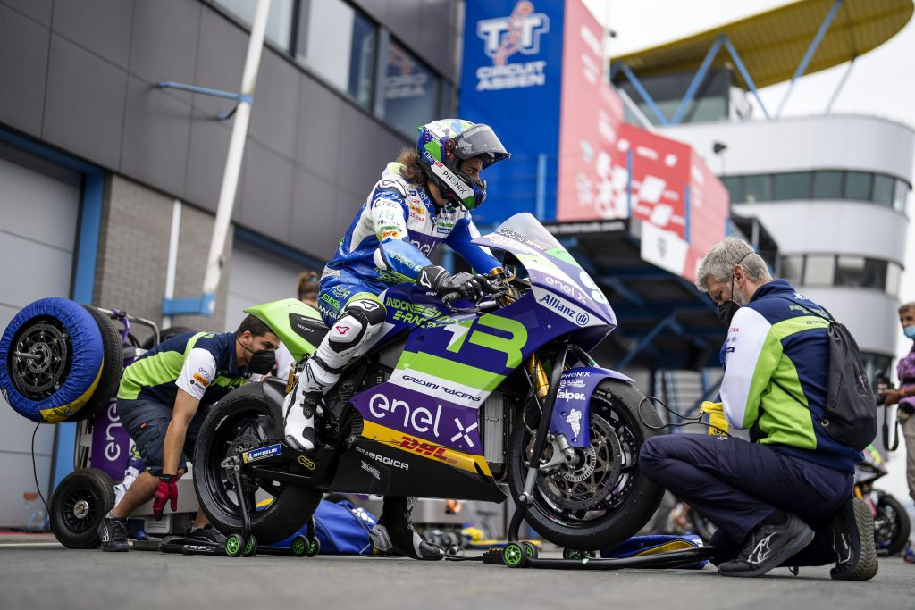 INIZIO IN SORDINA PER L'INDONESIAN E-RACING GRESINI MOTOE   - Gresini Racing
