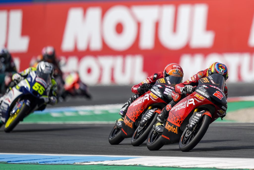 DOMENICA INCOLORE PER L'INDONESIAN RACING GRESINI MOTO3 AD ASSEN - Gresini Racing