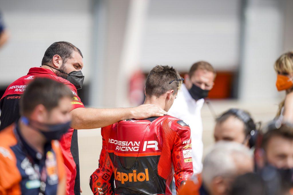 ALCOBA RIMONTA D'AUTORE IN GERMANIA - Gresini Racing