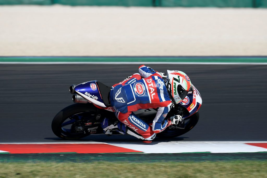 MISANO: FRUSCIONE E BIANCHI A PUNTI - Gresini Racing
