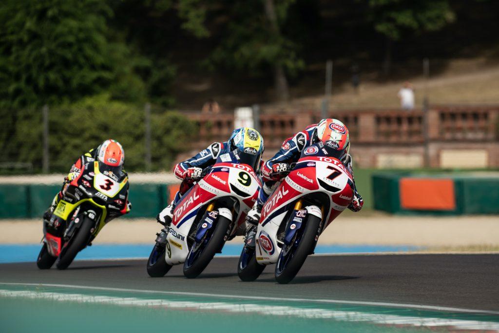 A PUNTI TUTTO IL JUNIOR TEAM NELLA DOMENICA DI IMOLA   - Gresini Racing