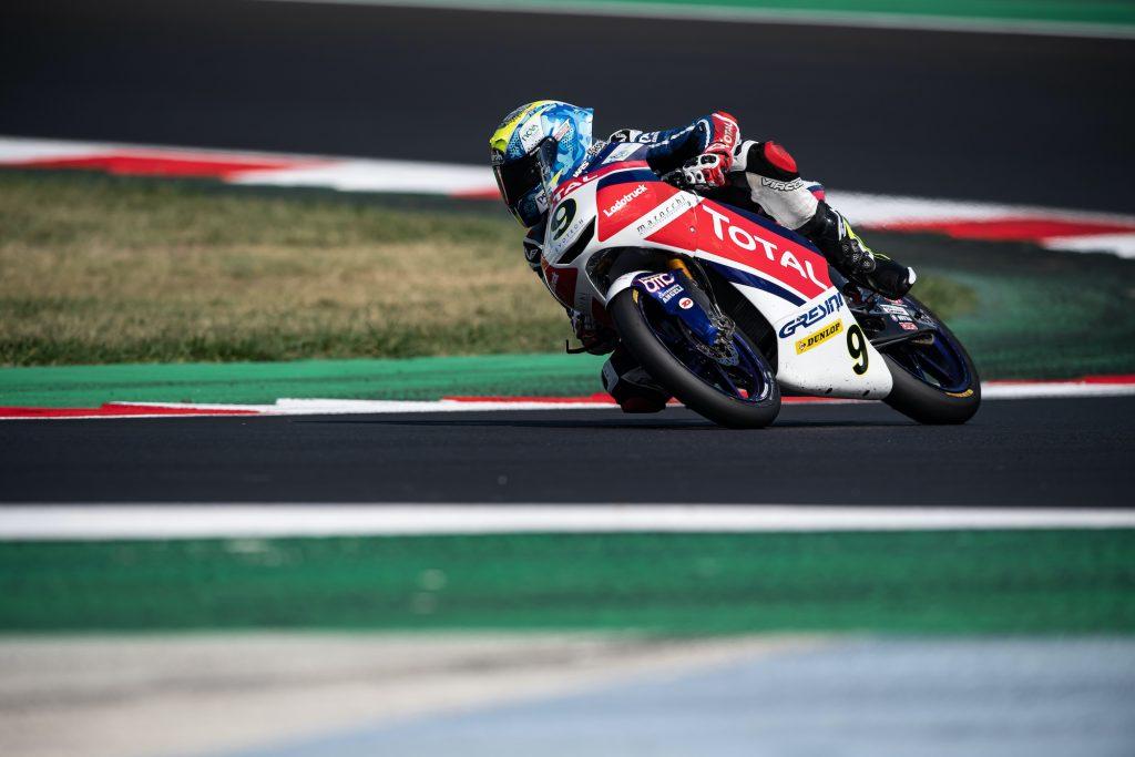 IL JUNIOR TEAM TOTAL GRESINI TORNA AL MUGELLO SENZA FRUSCIONE   - Gresini Racing