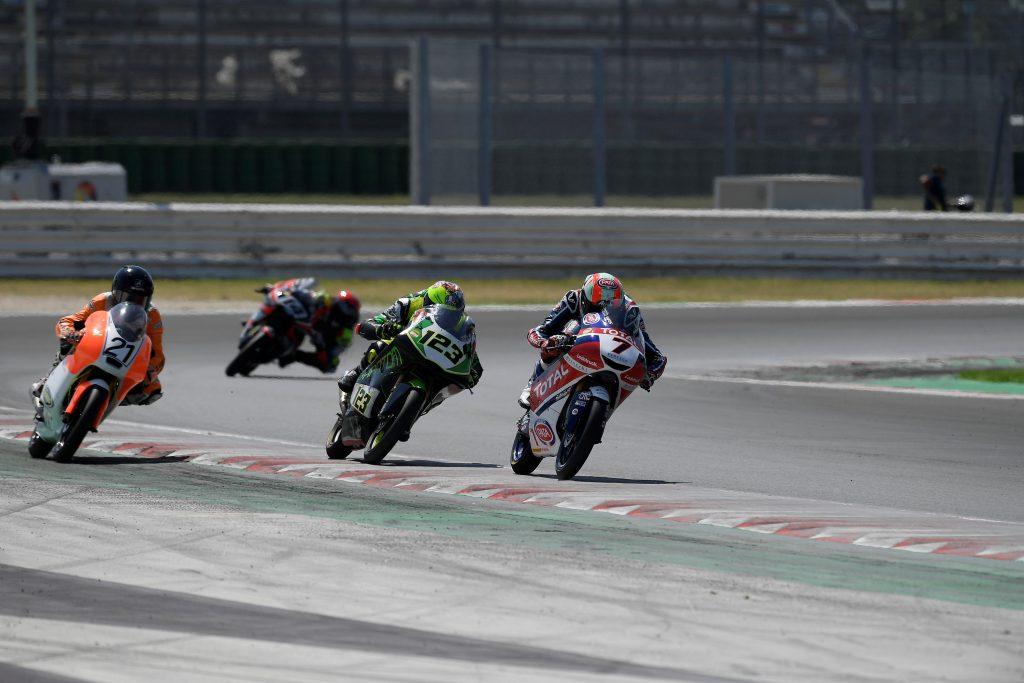 MISANO2: BRIVIDO FRUSCIONE, MICELI IN TOP10 - Gresini Racing