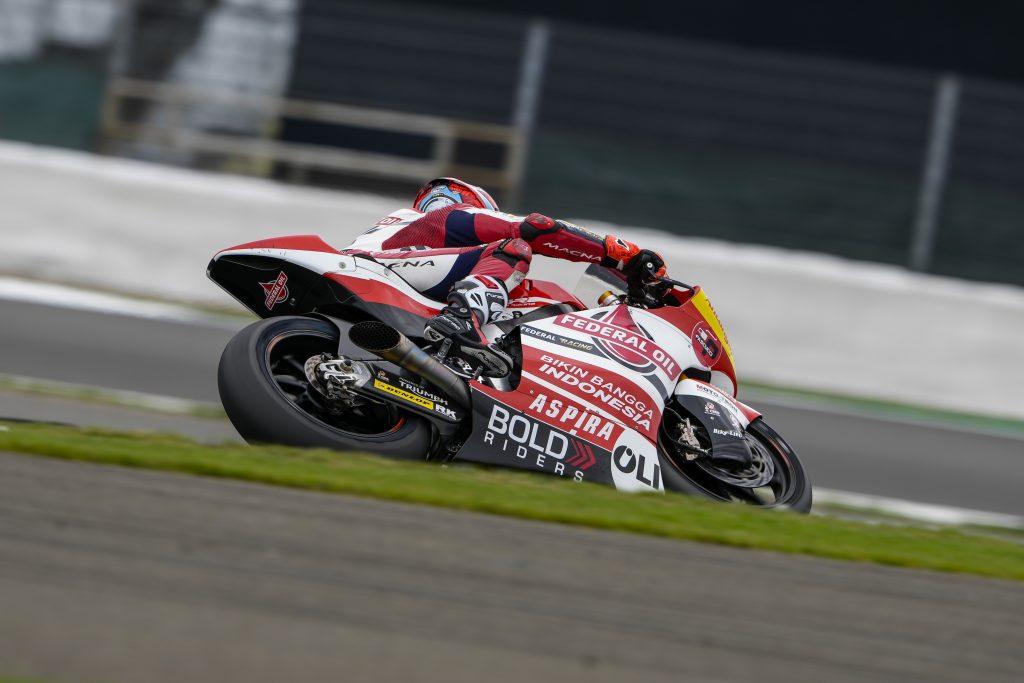 TOP10 PER IL TEAM FEDERAL NELLE LIBERE INGLESI   - Gresini Racing