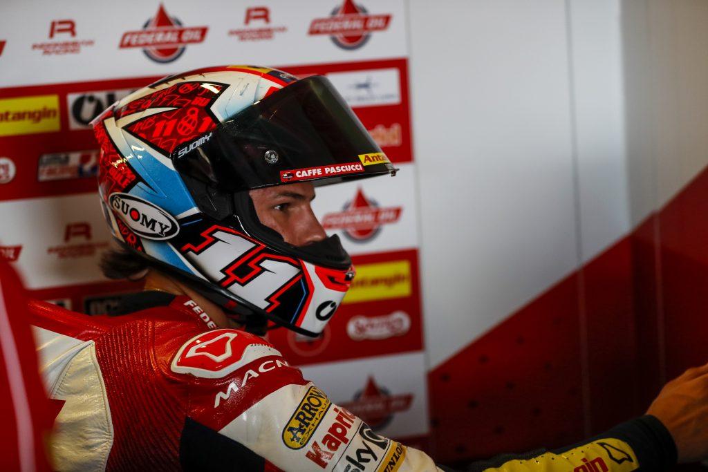 SILVERSTONE: DIGGIA DALLA SECONDA FILA, BULEGA 11º   - Gresini Racing