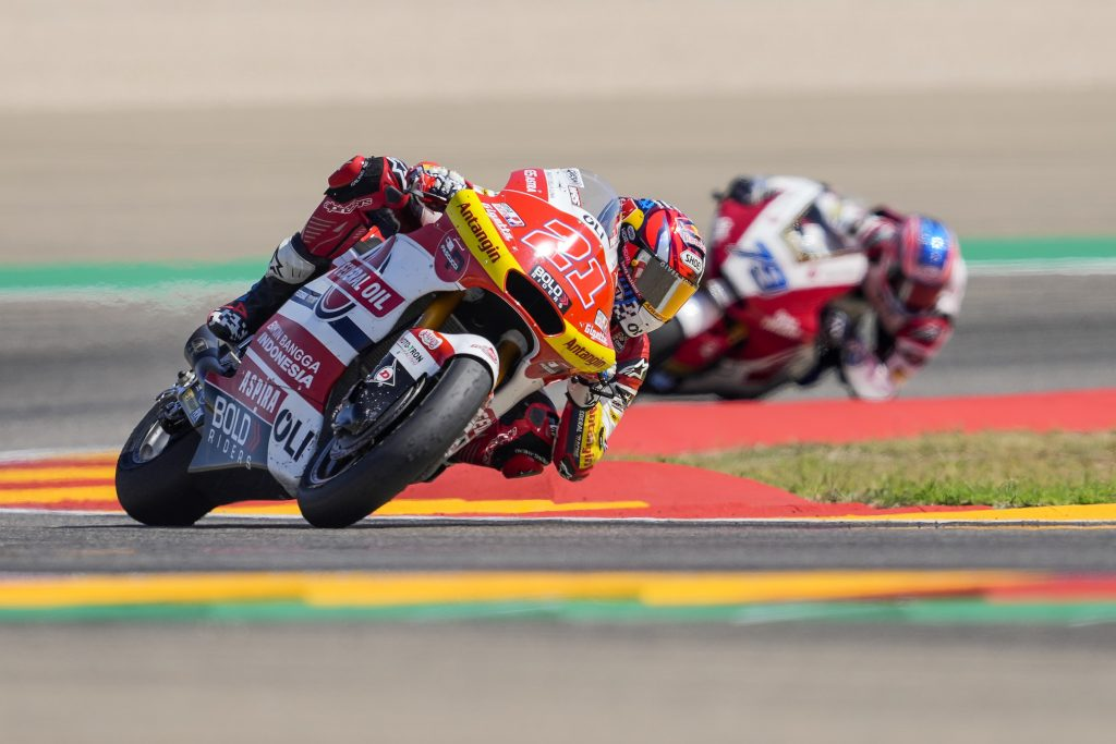 ARAGON: ANOTHER TOP-SIX RESULT FOR DIGGIA   - Gresini Racing