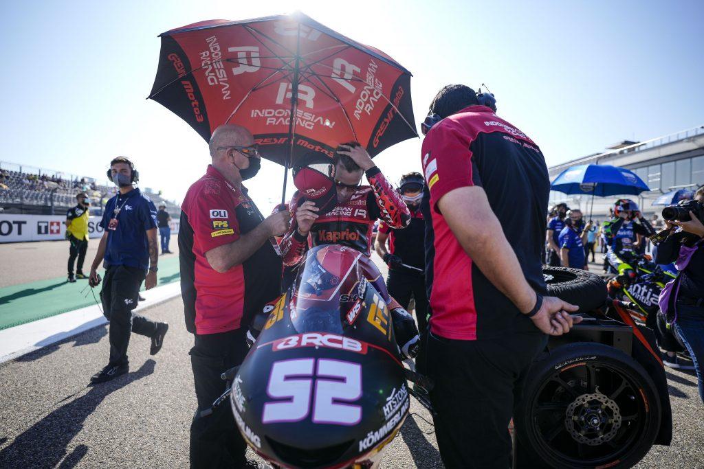 ARAGON DA DIMENTICARE: RODRIGO E ALCOBA DOPPIO OUT - Gresini Racing