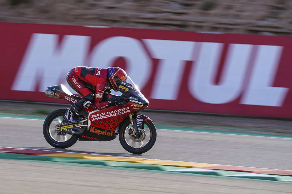 LIBERE FONDAMENTALI PER RODRIGO E ALCOBA AD ARAGON   - Gresini Racing