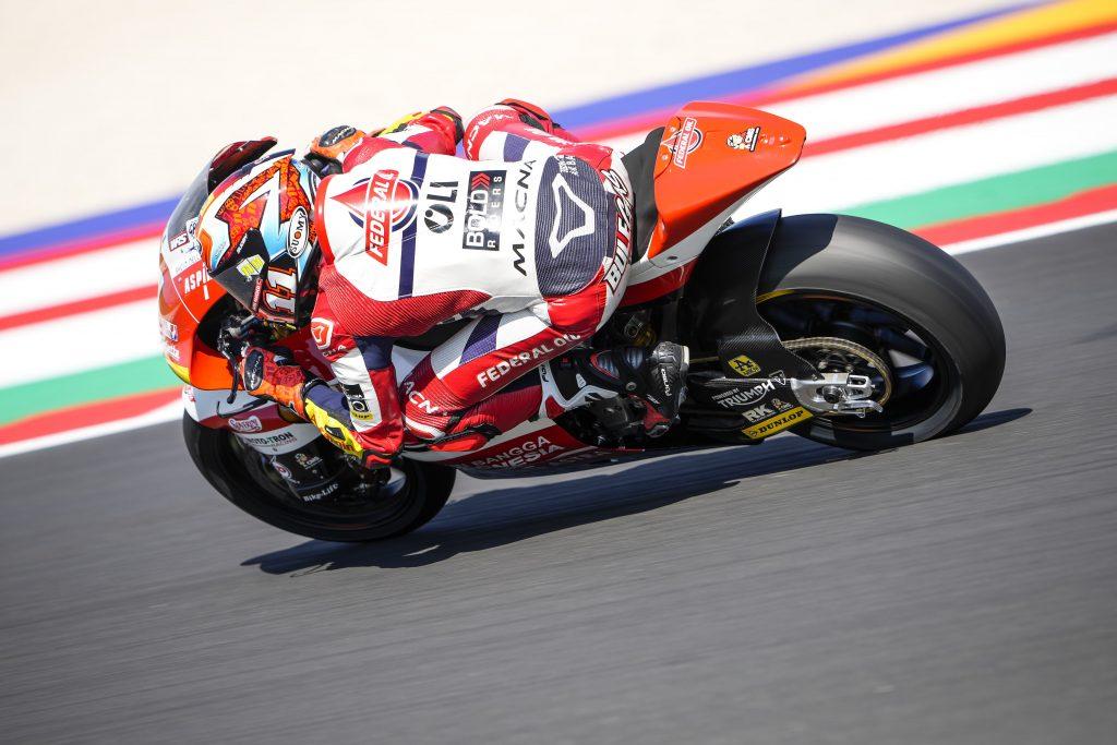 IL TEXAS ATTENDE IL TEAM FEDERAL OIL GRESINI MOTO2   - Gresini Racing