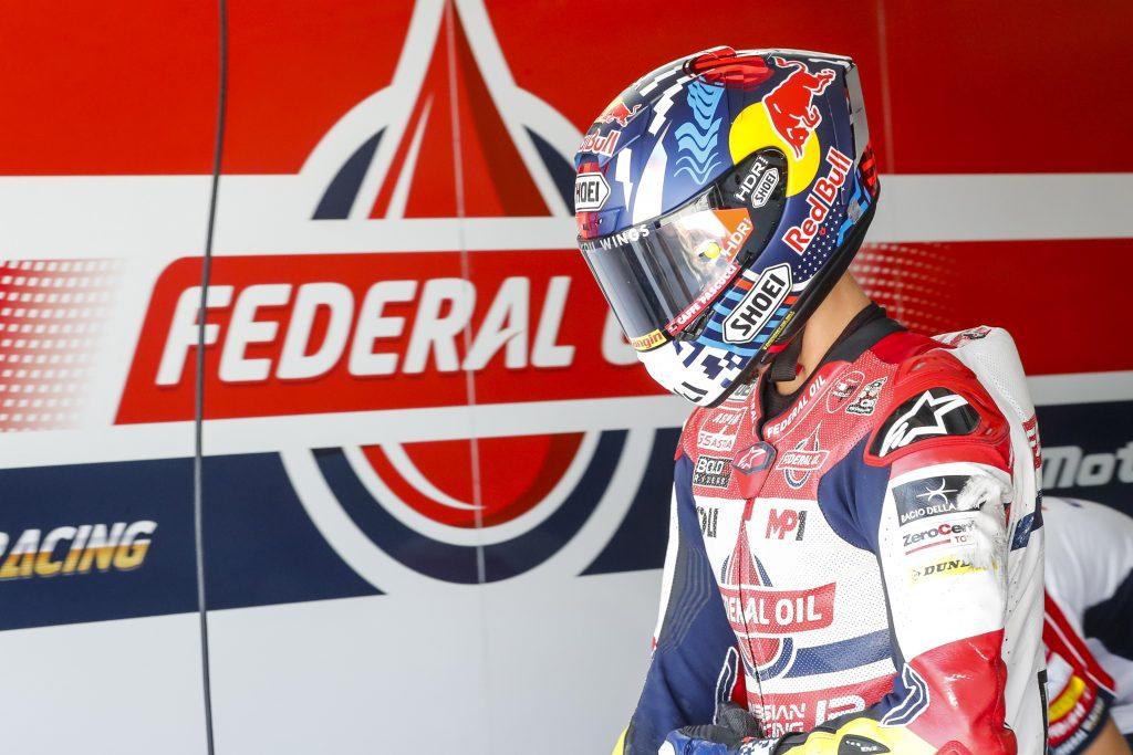 TERZA FILA PER DIGGIA AD ARAGON, BULEGA 14º   - Gresini Racing