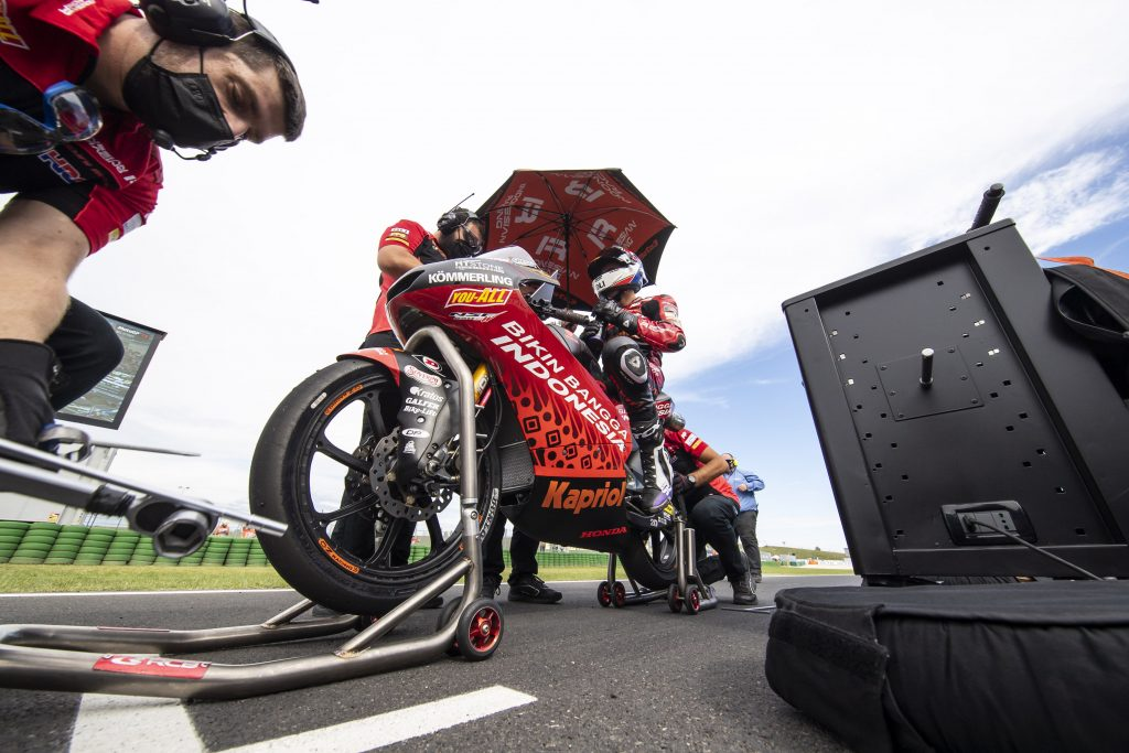 SAN MARINO SENZA PUNTI PER JEREMY ALCOBA   - Gresini Racing