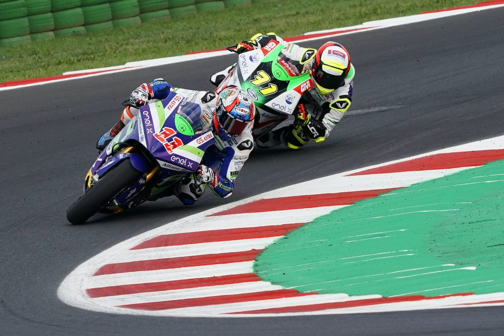 NO MIRACLE FOR FERRARI WITH FOURTH PLACE AT MISANO - Gresini Racing