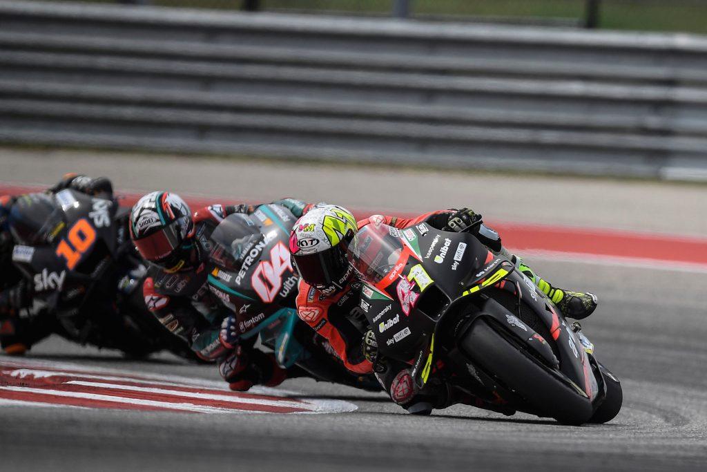 SI SPEGNE AL NONO GIRO IL GP DI ESPARGARÓ IN TEXAS - Gresini Racing