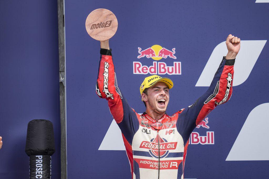 DIGGIA BACK TO PODIUM WAYS IN TEXAS   - Gresini Racing