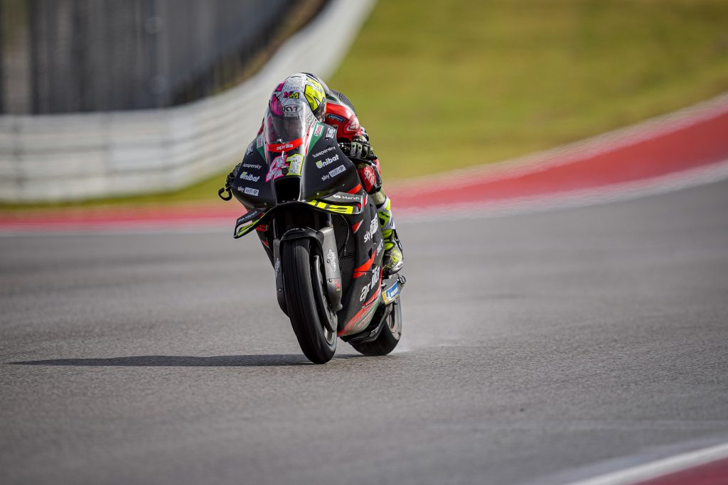 DIFFICULT CONDITIONS FOR THE OPENING SESSIONS AT COTA - Gresini Racing
