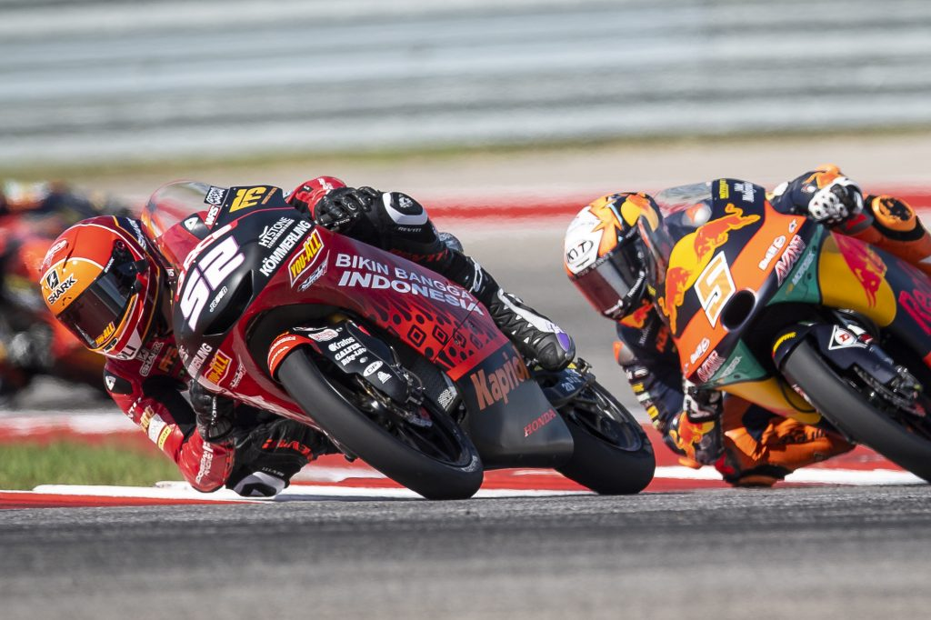 BLESSED ALCOBA UNINJURED AFTER SCARY CRASH AT COTA - Gresini Racing
