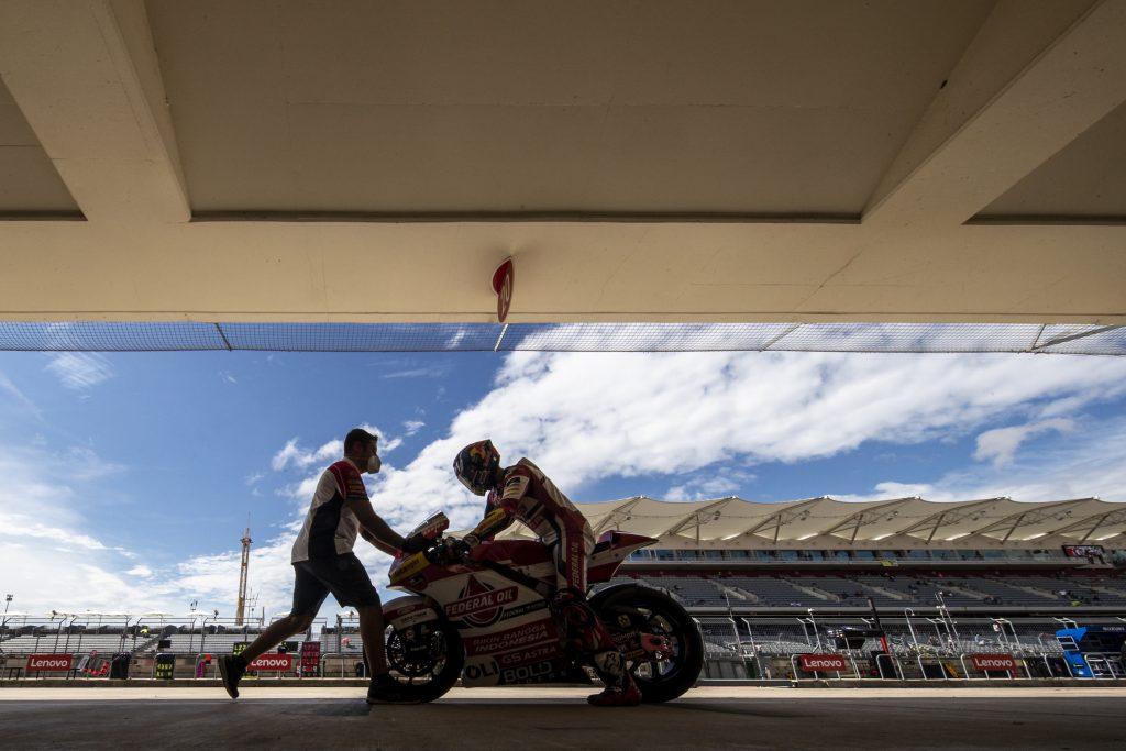 DIGGIA E BULEGA FUORI DALLA Q2 PROVVISORIA IN TEXAS - Gresini Racing